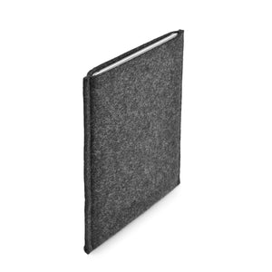 iPad Pro 12.9 inch Wool Felt Cover Charcoal Portrait - Wrappers UK