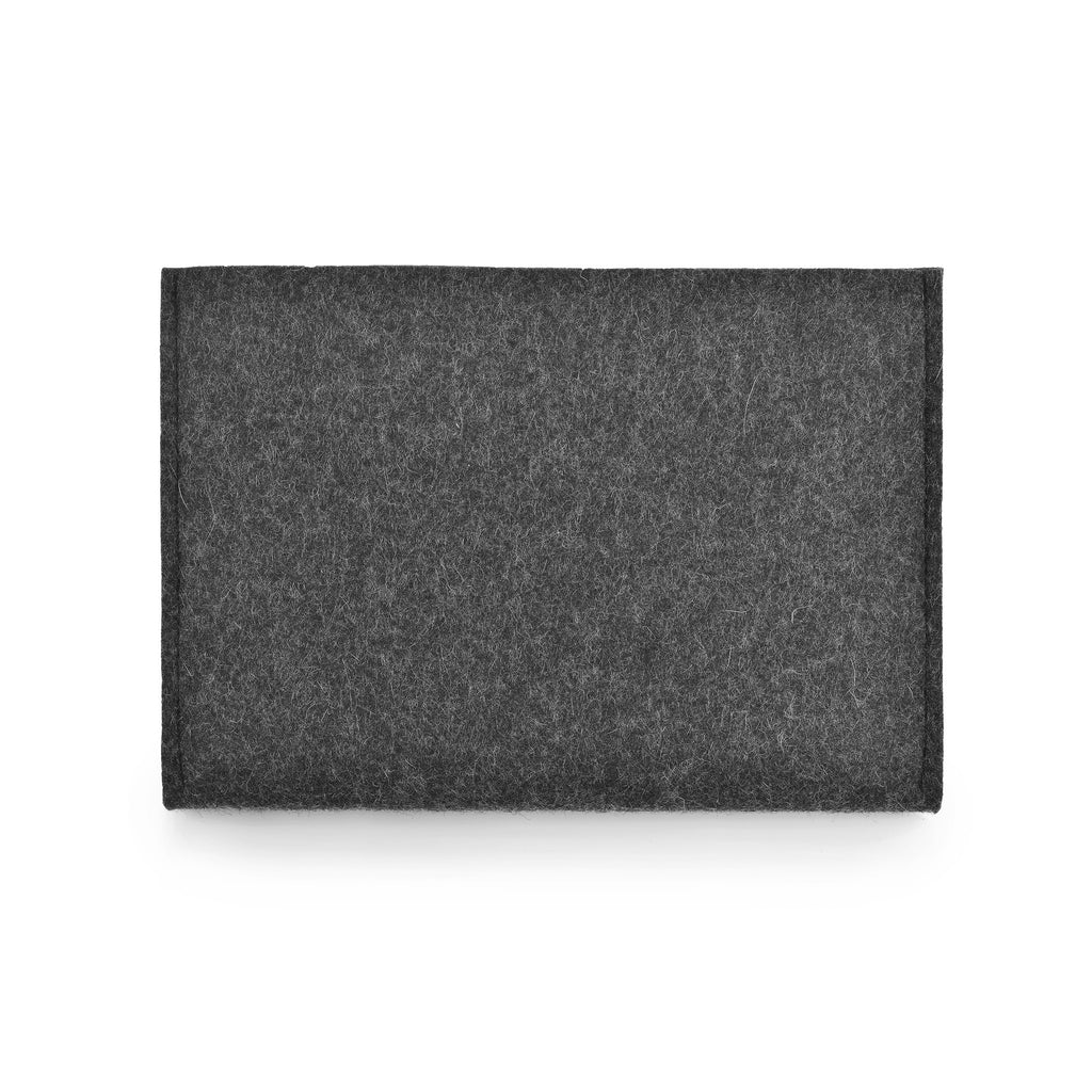 MacBook Wool Felt Charcoal Landscape