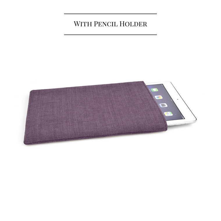 iPad Linen Mulberry + Pencil