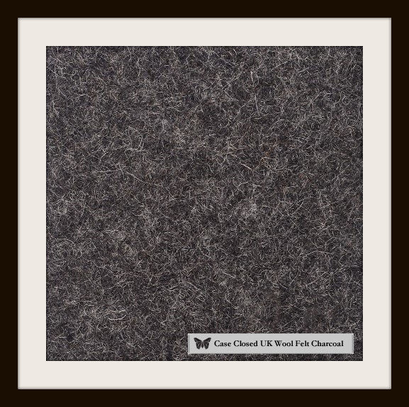 Kindle Wool Felt Charcoal Landscape - Wrappers UK