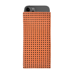 iPhone Alcantara Slip-Case Orange