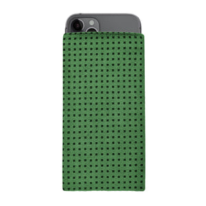 iPhone Alcantara Slip-Case Racing Green