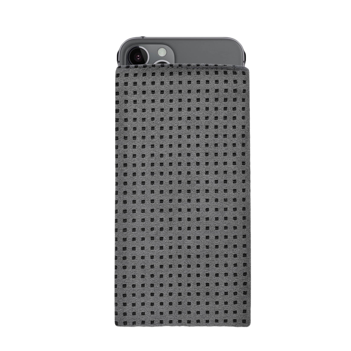 iPhone Alcantara Slip-Case Grey - Wrappers UK