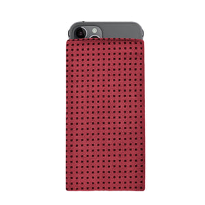 iPhone Alcantara Slip-Case Maroon - Wrappers UK