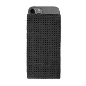 iPhone Alcantara Slip-Case Black