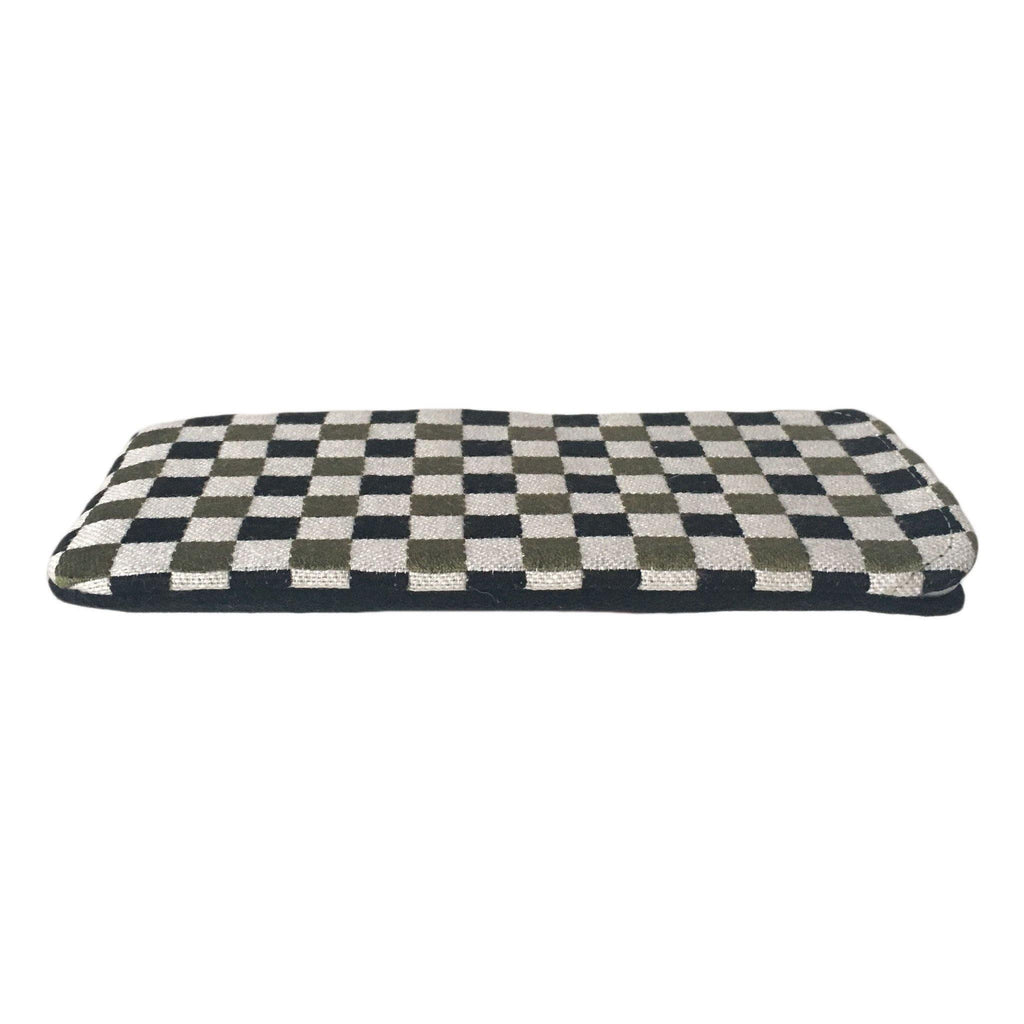 iPhone Cover Chequered Kaki (from 16th May)