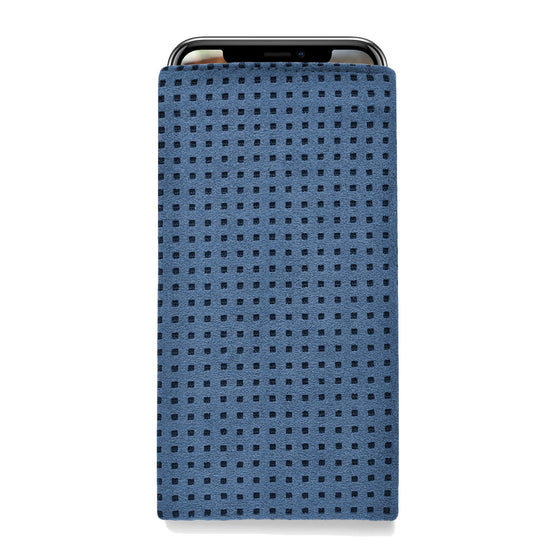 iPhone Alcantara Slip-Case Blue - Wrappers UK