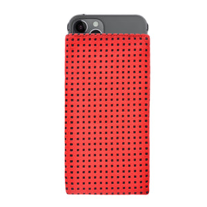 iPhone Alcantara Slip-Case Red