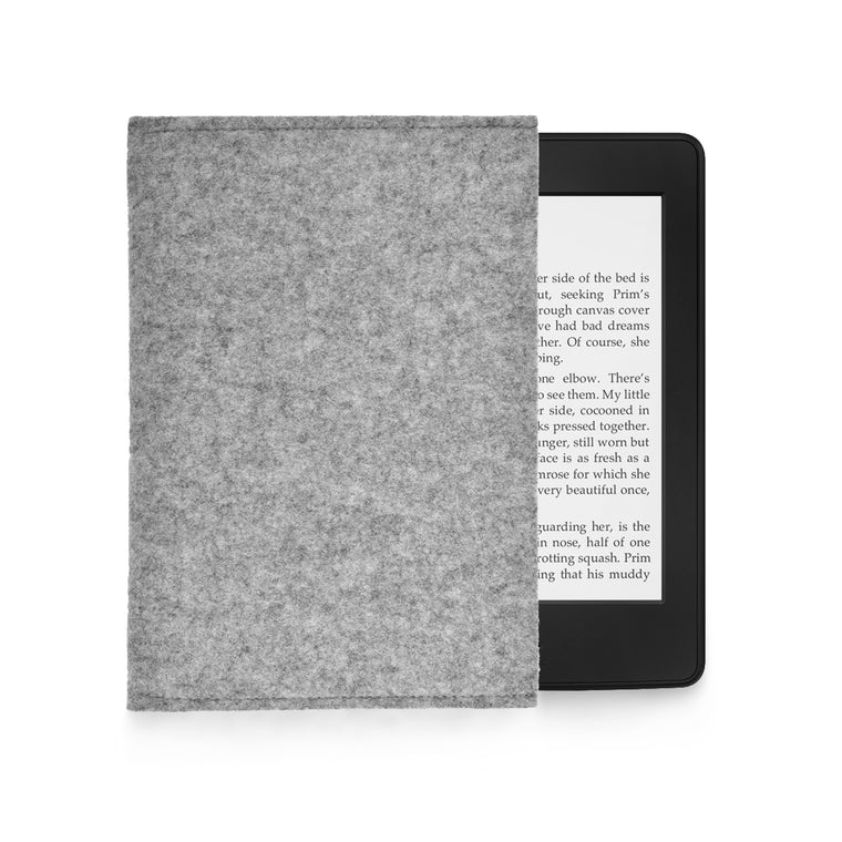Kindle Wool Felt Grey Landscape - Wrappers UK