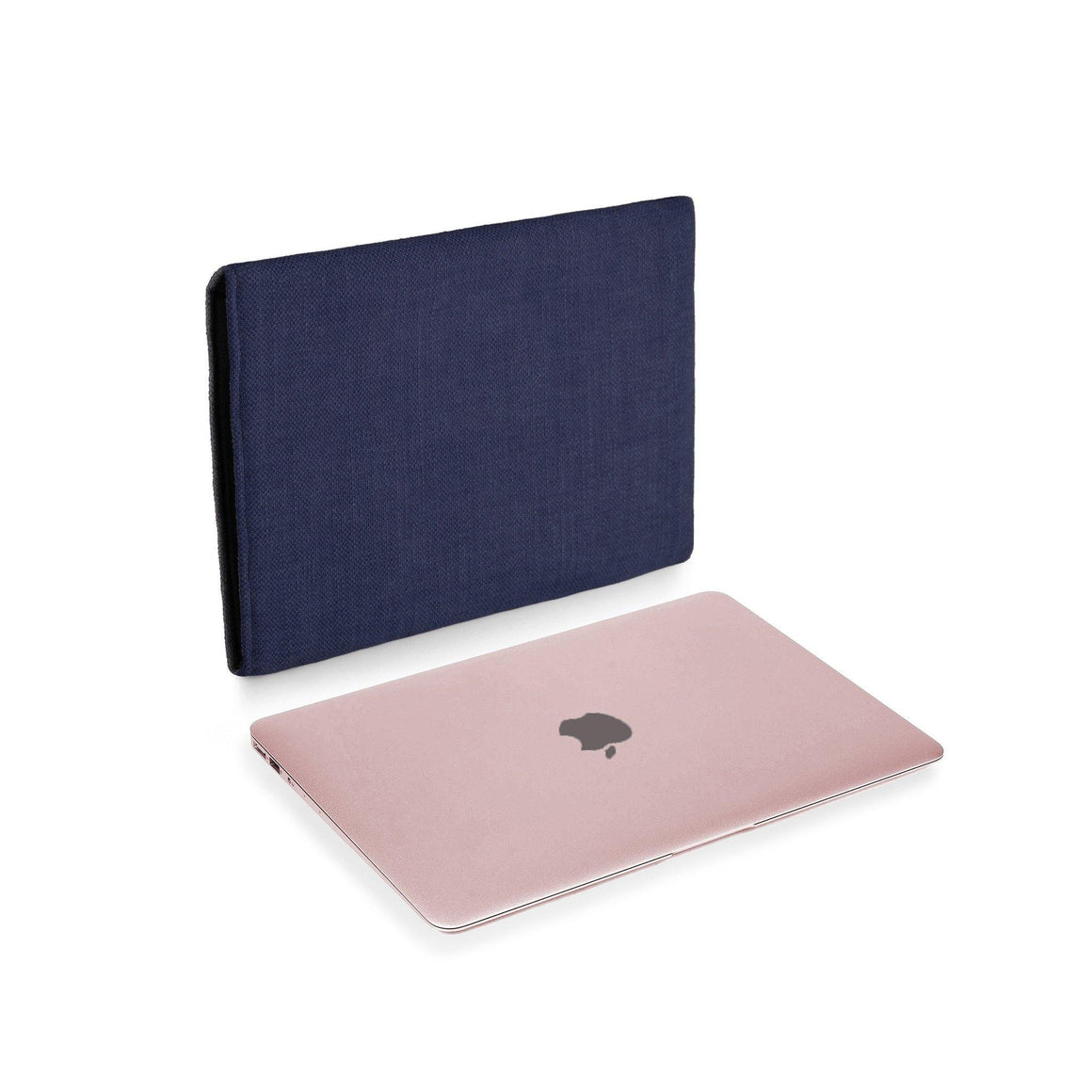 MacBook 12 Rose Gold Cover Navy - Wrappers UK