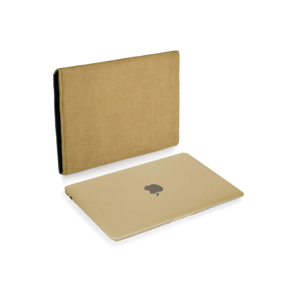 MacBook Linen Gold