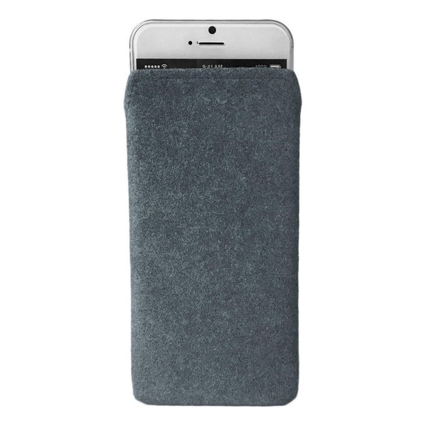 iPhone Alcantara Pouch Pashma Greys