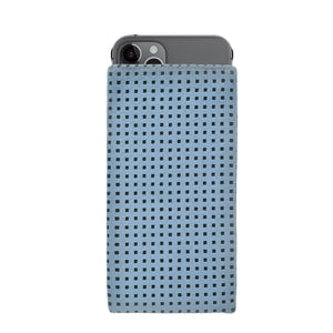 iPhone Alcantara Slip-Case Sky Blue