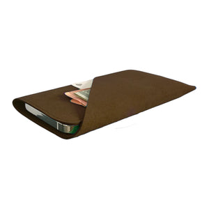 iPhone Alcantara Wallet