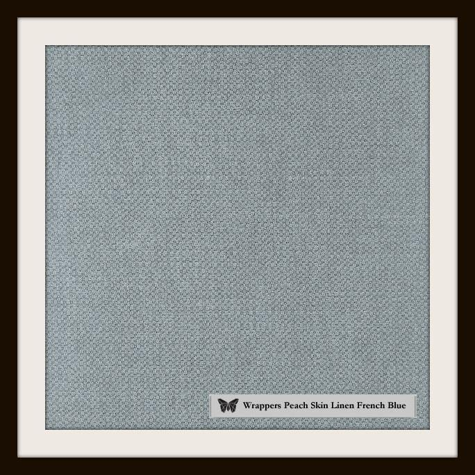 iPad Linen French Blue - Wrappers UK
