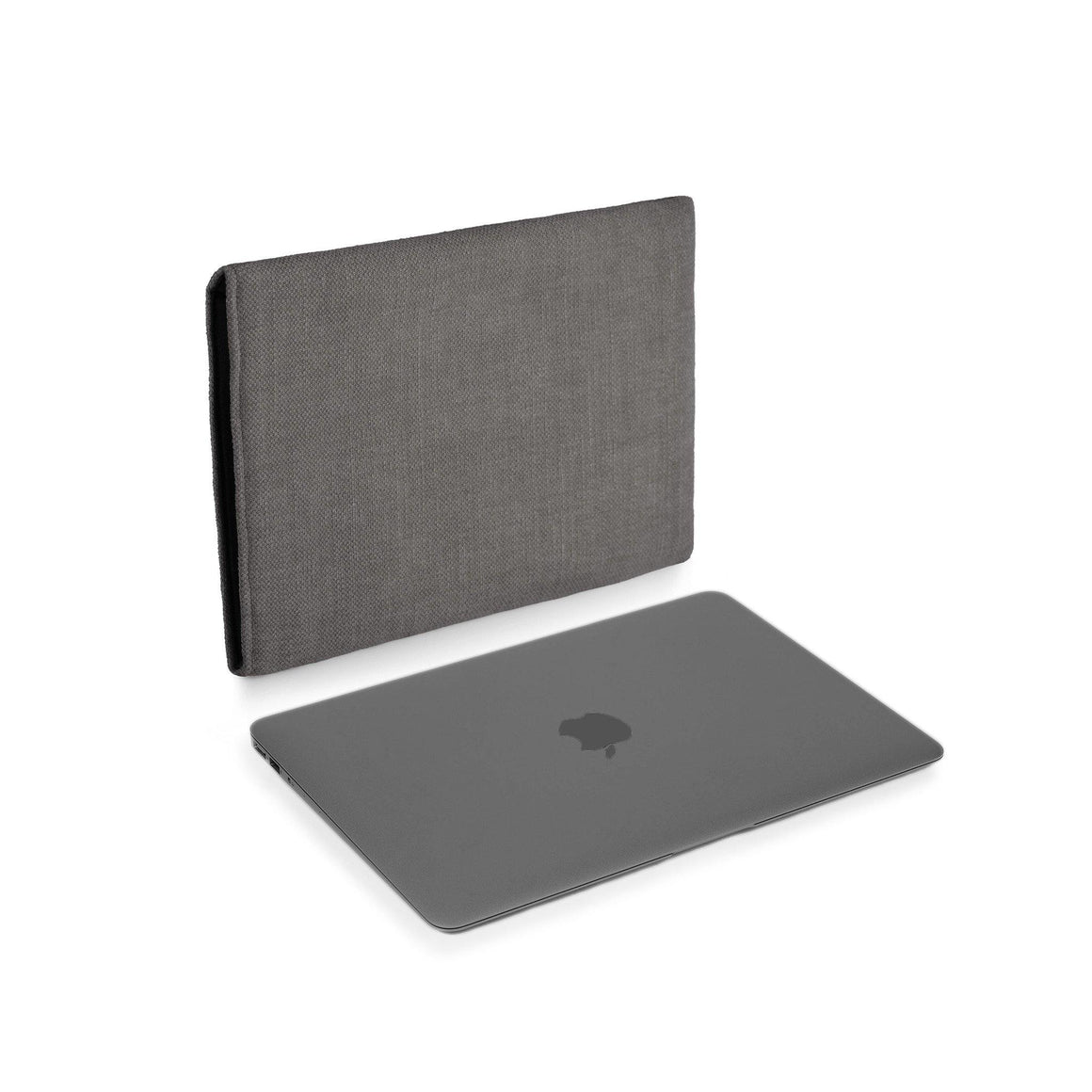 MacBook 12 Space Grey Cover Charcoal - Wrappers UK