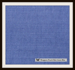 MacBook Linen Soldier Blue - Wrappers UK