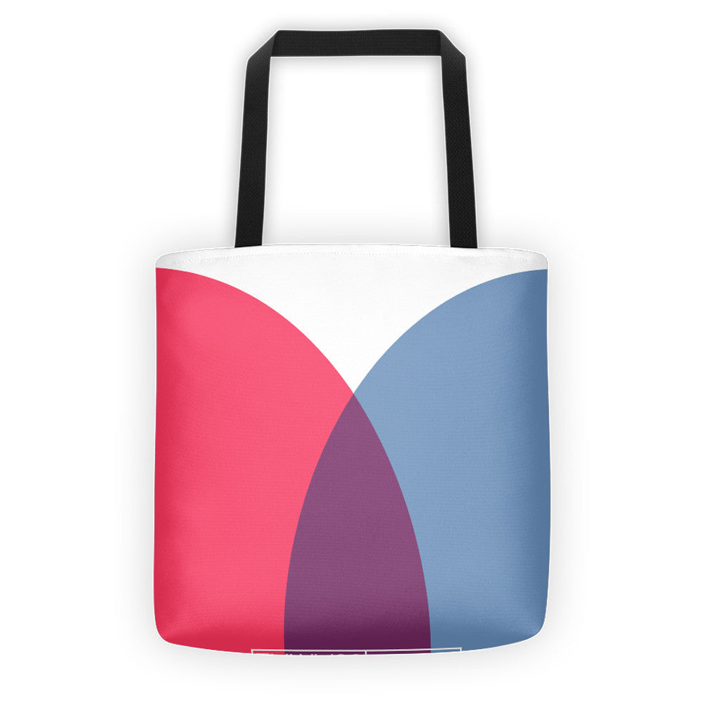 BOUNDARIES, ALL-OVER PRINT TOTE BAG - YANMOS