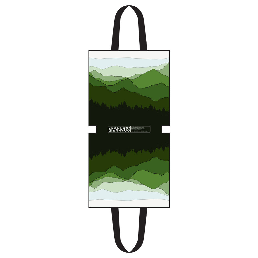 The Horizon, ALL-OVER PRINT TOTE BAG - YANMOS