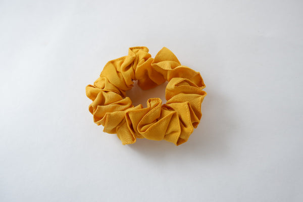 Stephany Canary Silk Scrunchy - Republic of Mode