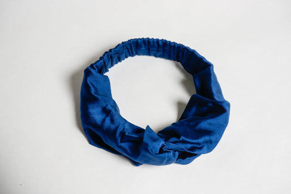 Stephany Navy Twist Hairband - Republic of Mode