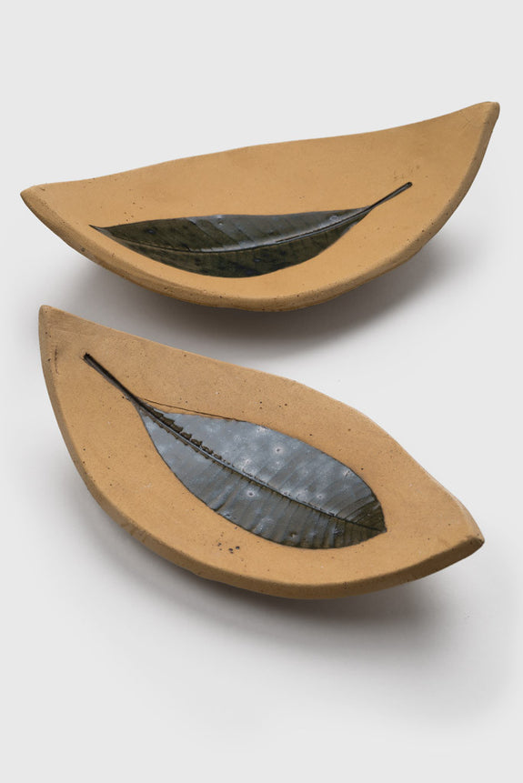 Banana Pottery Leaf Plate Set - Republic of Mode