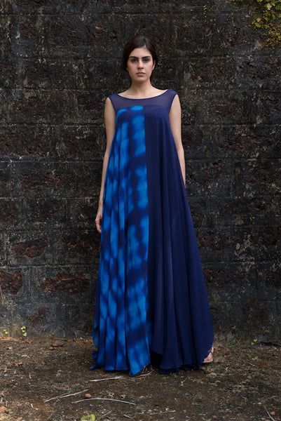 Stephany Fold-Dye Deconstructed Dress Featured View - Republic of Mode