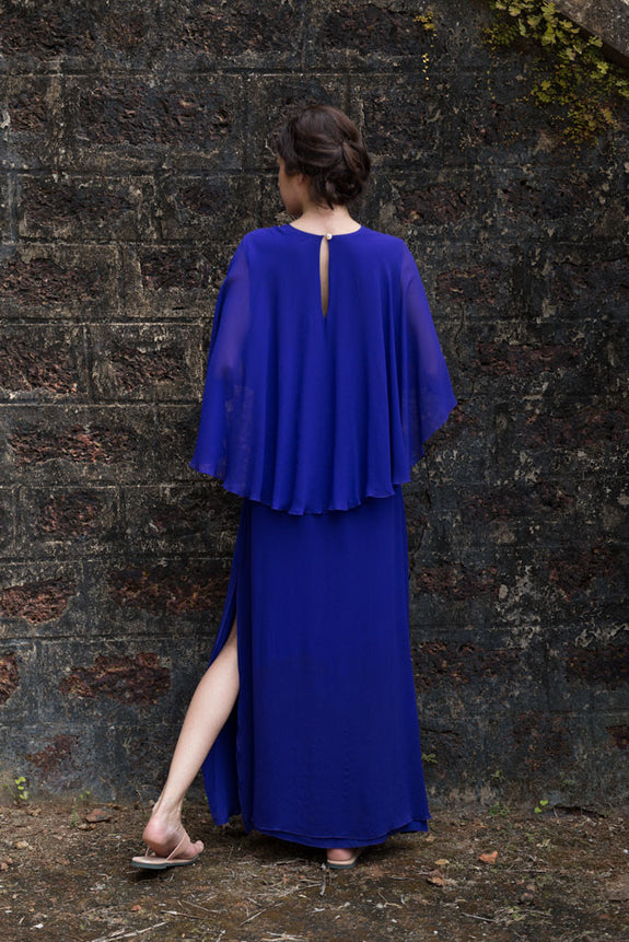 Stephany Cape Dress - Republic of Mode