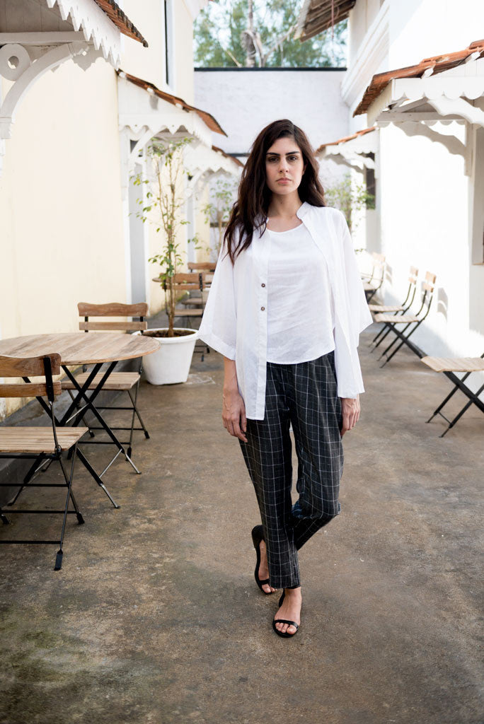 Creamoda Cotton Overshirt Featured View - Republic of Mode