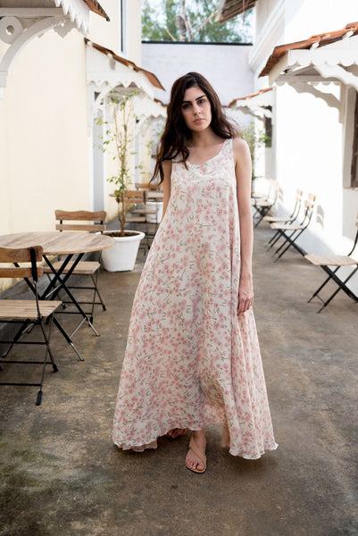 Creamoda Long Swing Dress Featured View - Republic of Mode