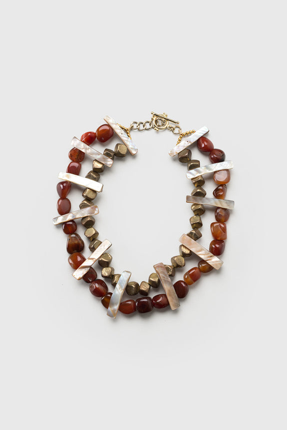 Paul B Agate Choker - Republic of Mode