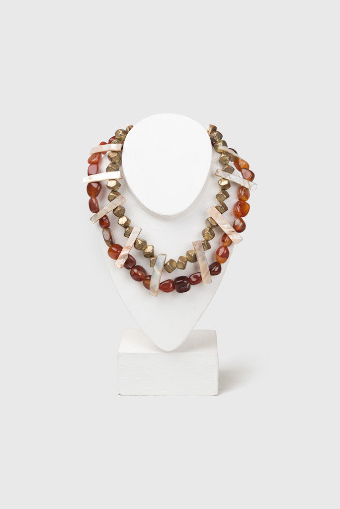 Paul B Agate Choker Featured View - Republic of Mode