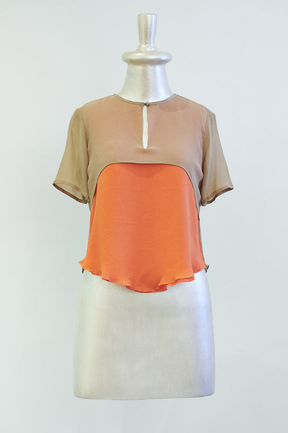 Stephany Color Block Top - Republic of Mode