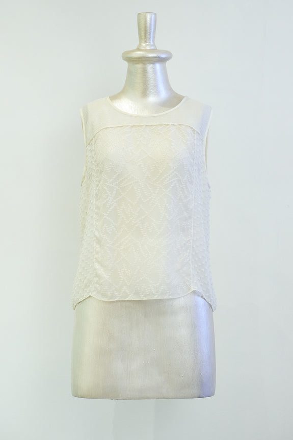 Stephany Sheer Top - Republic of Mode