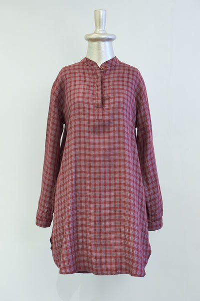 Creamoda Kurta Collar Shirt Dress - Republic of Mode
