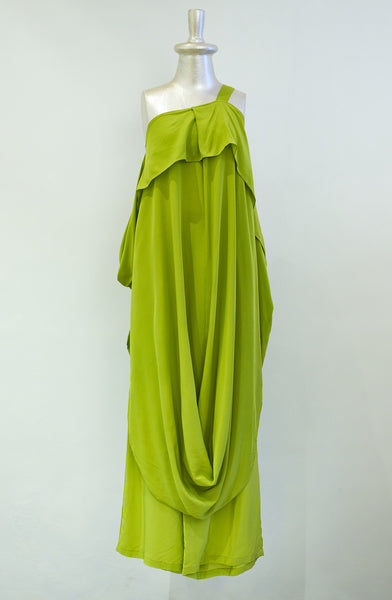 Stephany Draped One Strap Dress - Republic of Mode