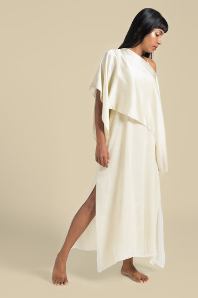 Stephany Slip Dress w/ Boat Neck Top - Republic of Mode