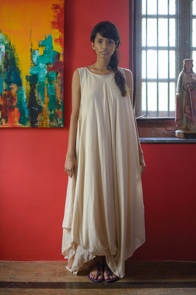 Stephany Draped Layered Dress - Republic of Mode