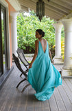 Stephany Low Back Maxi Dress Featured View - Republic of Mode