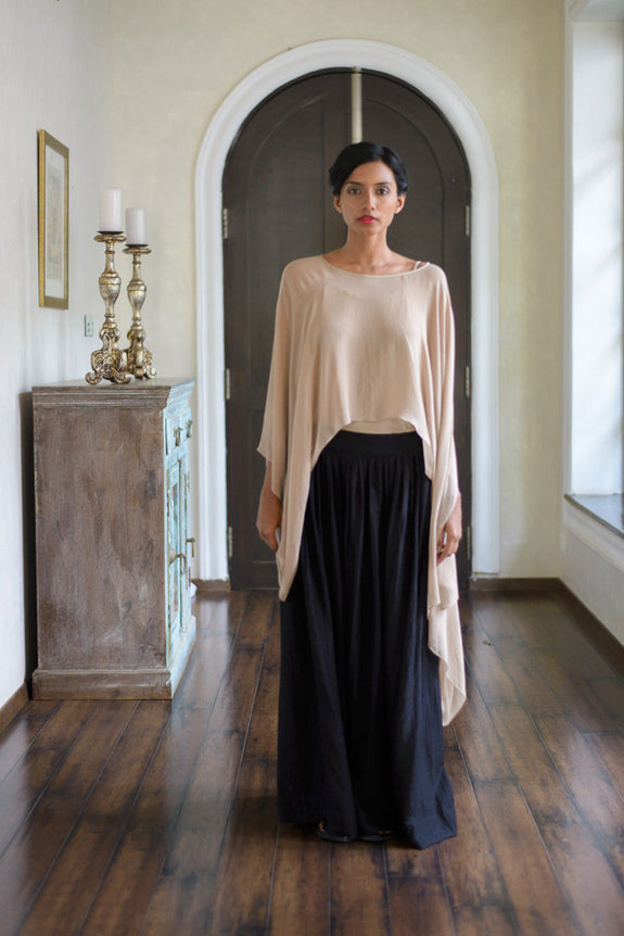 Stephany Deconstructed Top w/ Wide-Leg Trouser - Republic of Mode