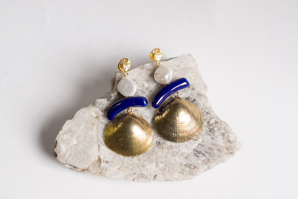 Paul B Shell Earring - Republic of Mode