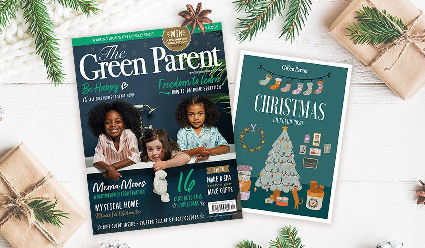 Blue Brontide features in The Green Parent Magazine Gift Guide