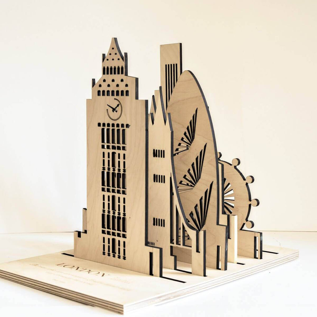 Buildings Wooden Architectural Toys - London