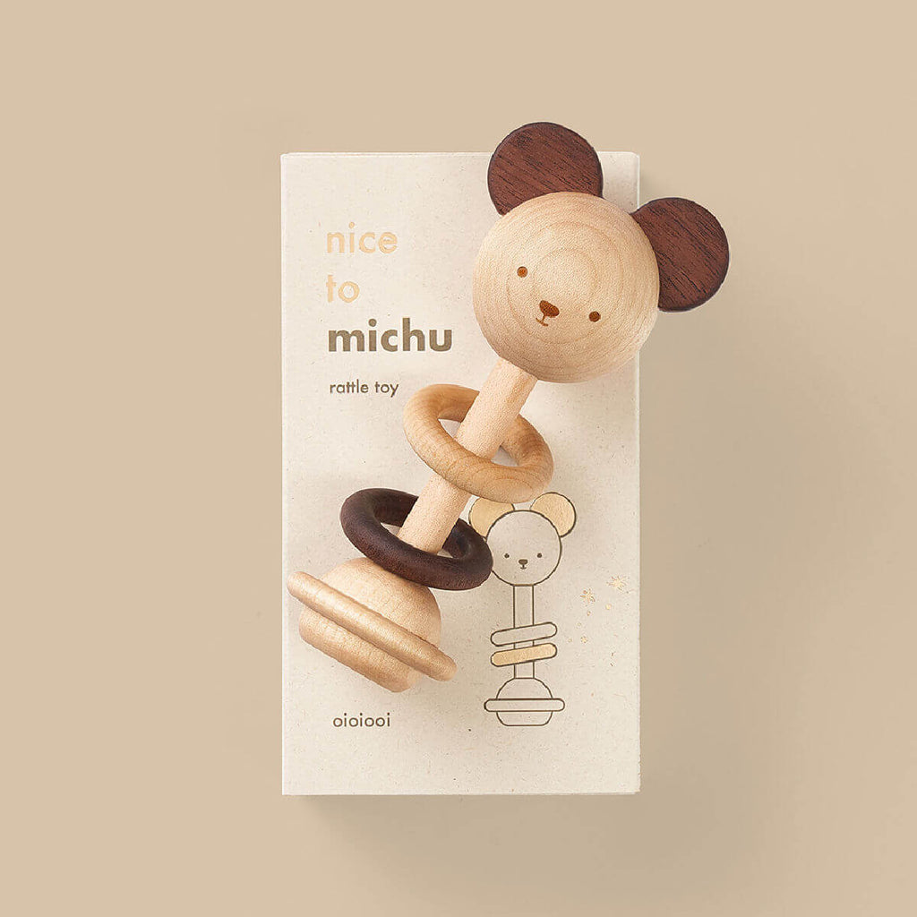 Nice to Meet You Baby Rattle (Pre-order)