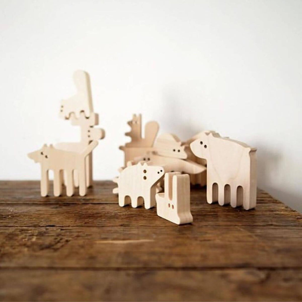 Forest Animals Balance Toy