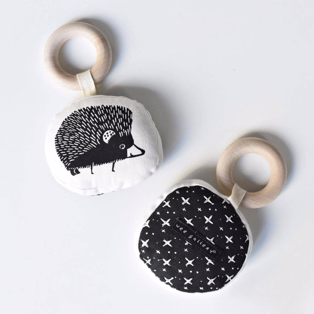 Organic Teether - Hedgehog
