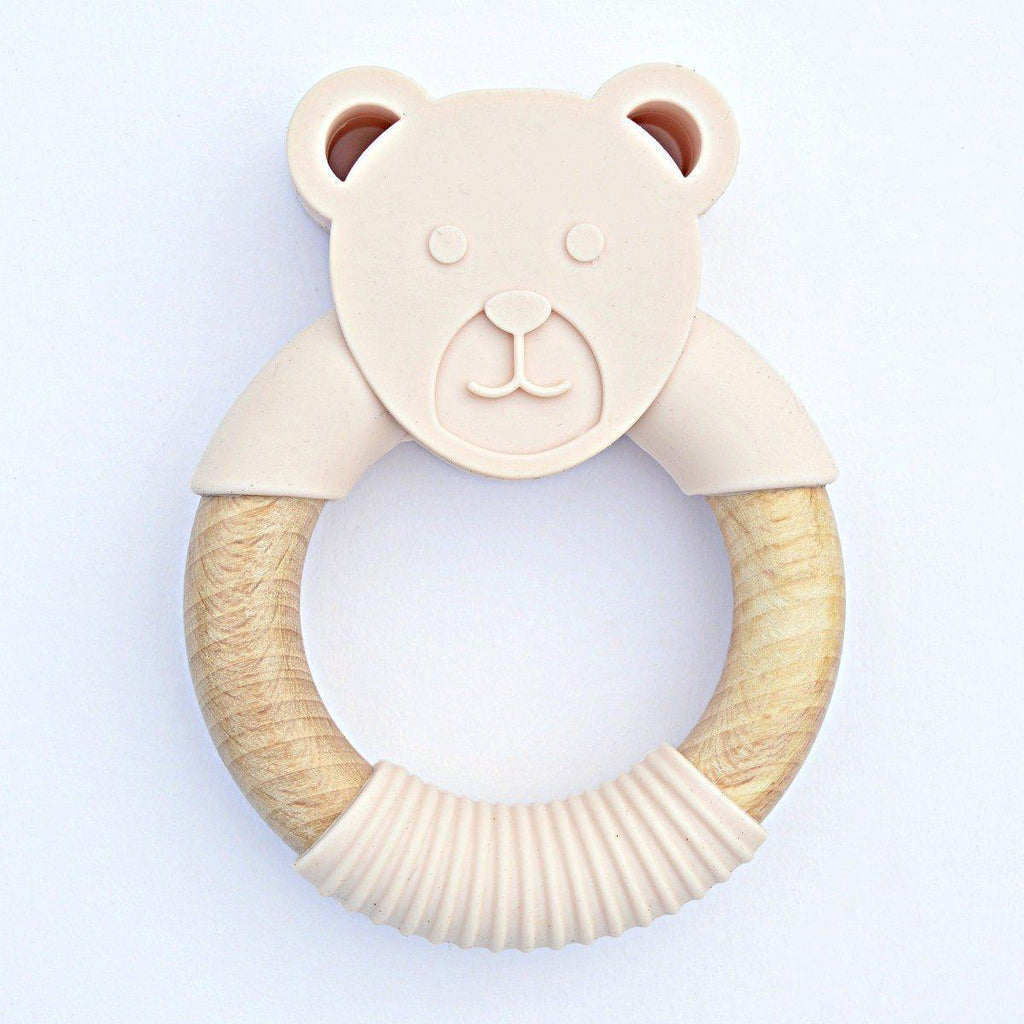 Wood_Silicone_Baby_Teether_Blush_Bear