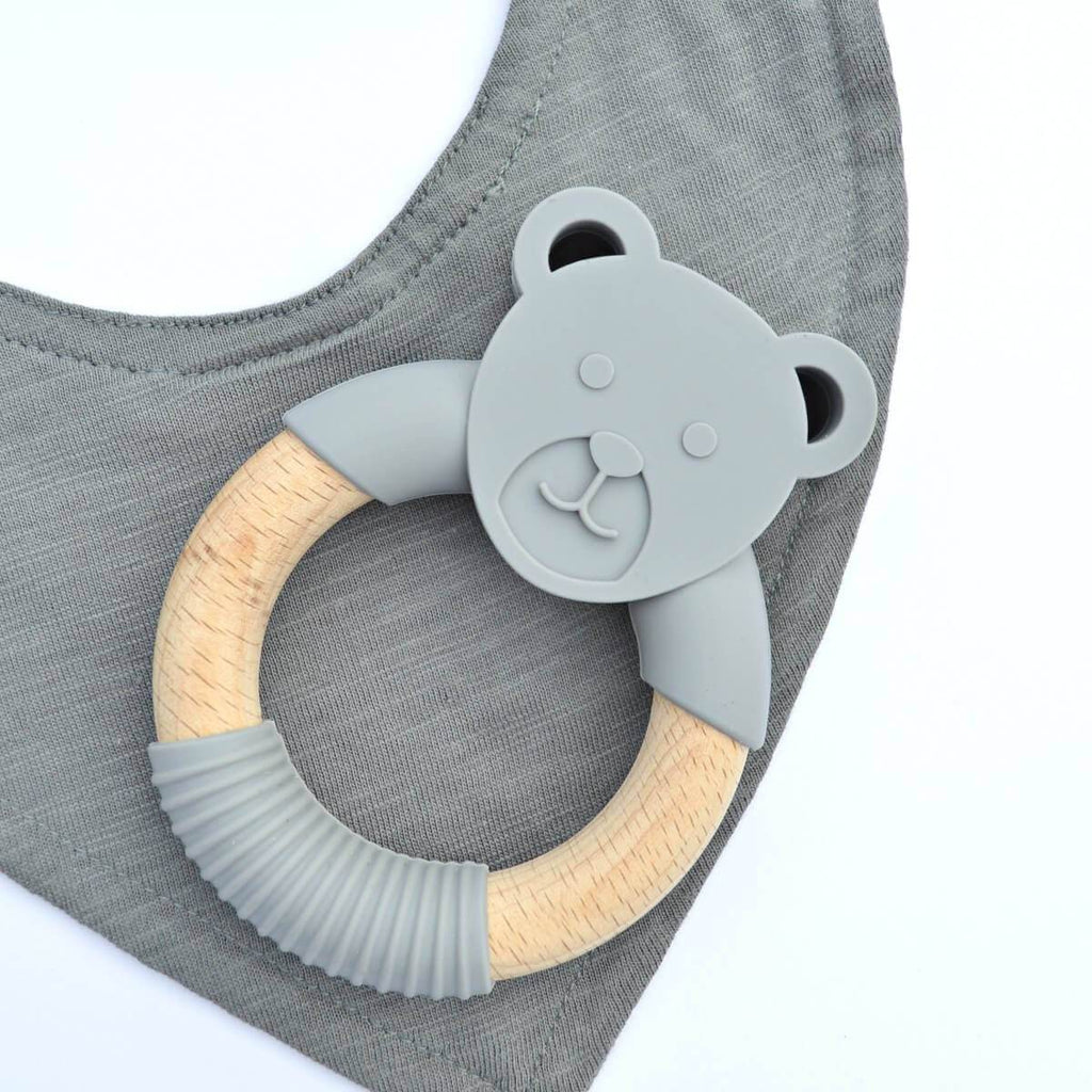 Wood_Silicone_Baby_Teether_Toy_Storm_Grey_Bear