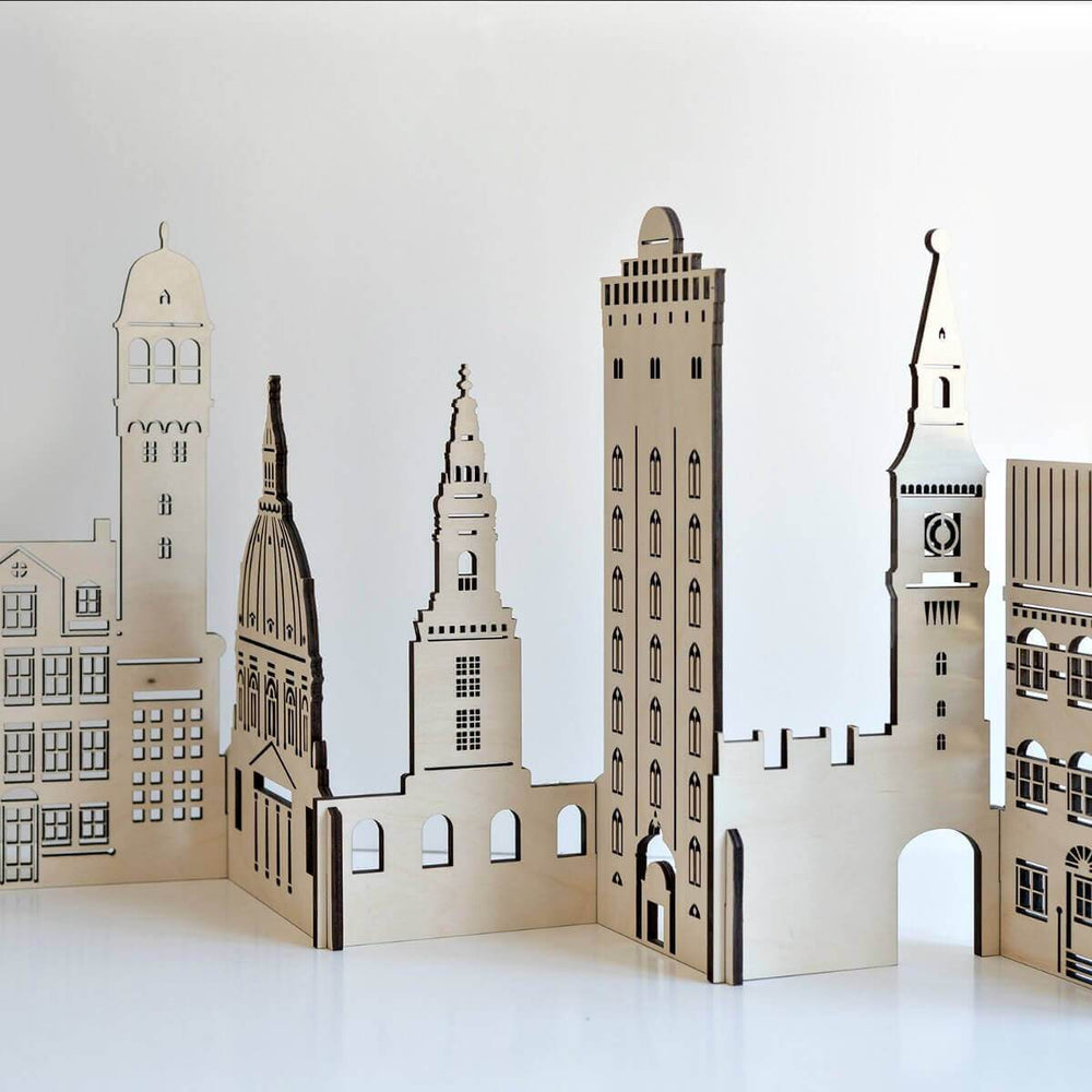 Buildings Wooden Architectural Toys  - Copenhagen