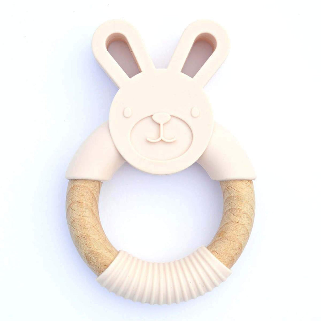 Wood_Silicone_Baby_Teether_Toy_Blush_Bunny